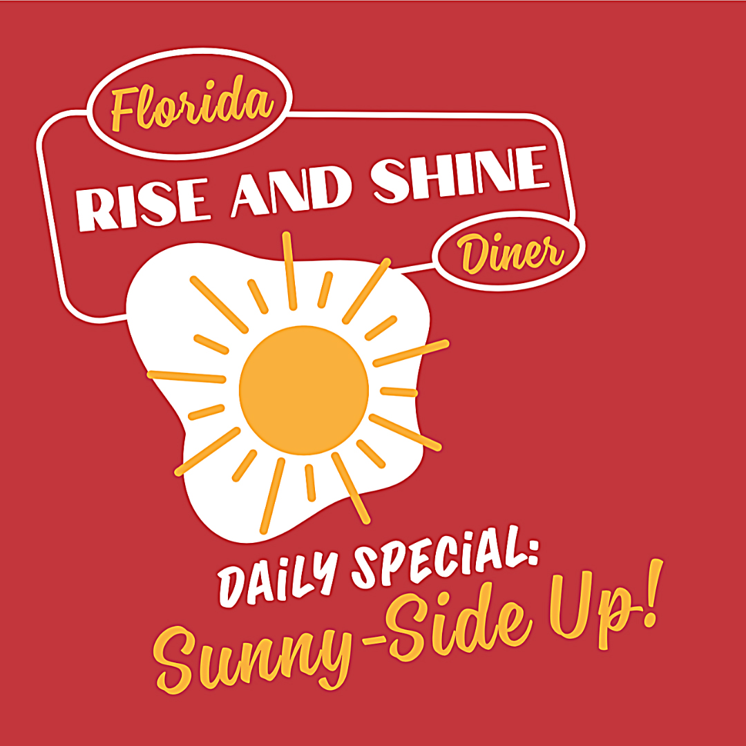 Sunny-Side Up T-Shirt 44 Fish